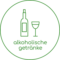alkoholische getränke.